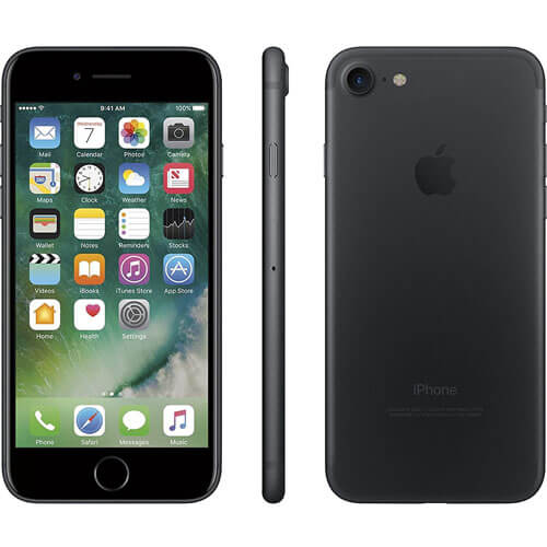 Apple iPhone 7 128GB, Mobile Phone Black