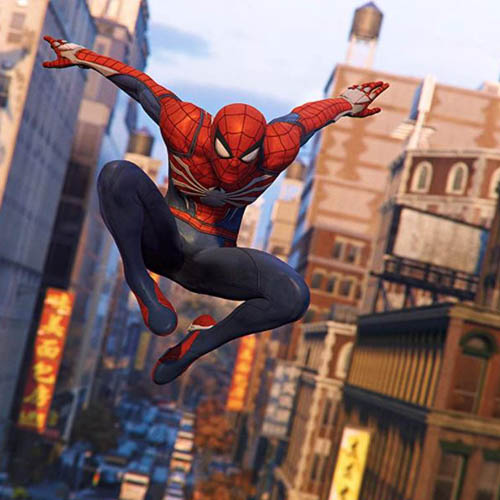 PlayStation 4 Spider-Man,PS4 CD,DISC Games