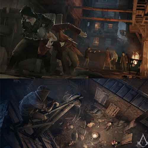 ASSASSIN CREED SYNDICATE PlayStation 4 Games Disc/cd