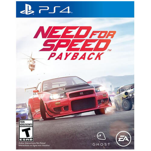 NEED FOR SPEED PlayStation 4 Games Disc/cd