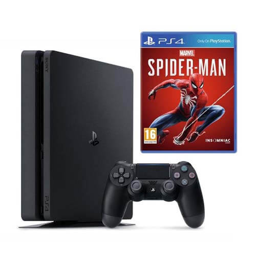 Sony Ps4 Spiderman Bundle Playstation 4 Console 500GB Game Console