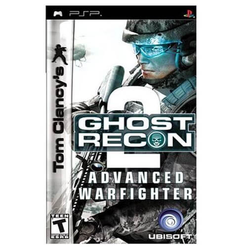 Sony PSP: Tom Clancy's Ghost Recon Advanced Warfighter Game CD