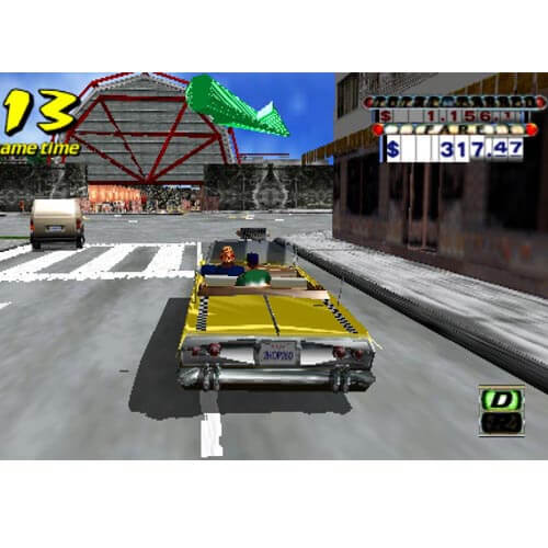 PSP:Crazy Taxi Fare Wars PSP Game CD