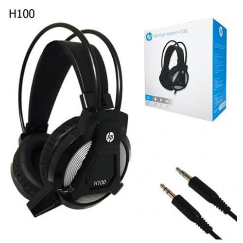 HP H100 Gaming Headset with Mic