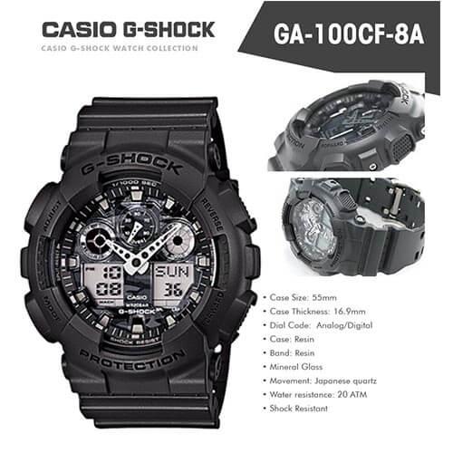 Casio G-Shock Analog and Digital Watch.