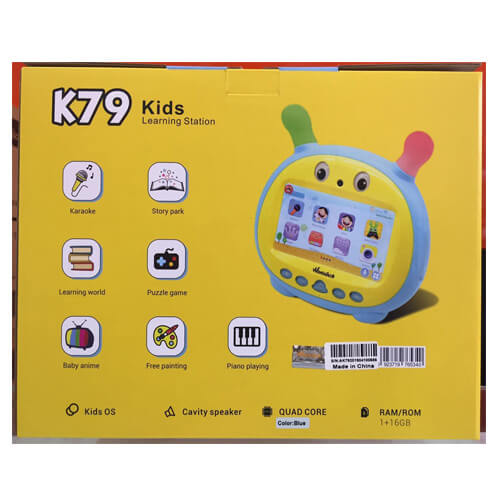 WINTOUCH K79 Kids Learning Station Tablet