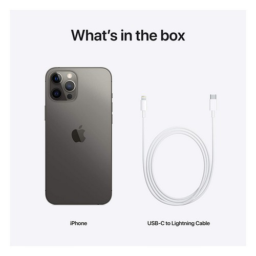 iPhone 12 Pro Max 512GB Mobile Phone Graphite/Grey (FaceTime – International Specs)