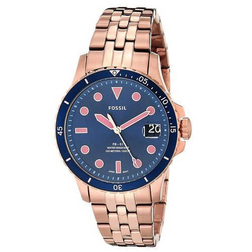 Fossil Analog Blue Dial Ladies Watch, ES4767