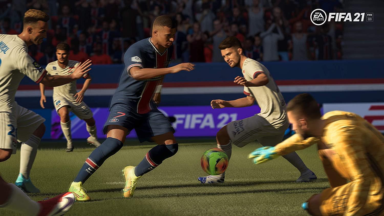 FIFA 21  PlayStation 4 and PlayStation 5, 2021 EDITION.
