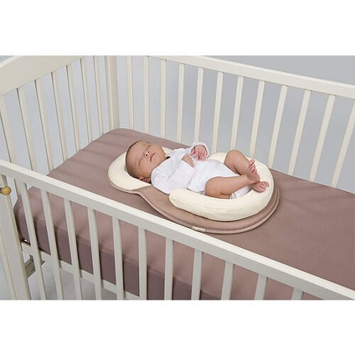 Anti Rollover Baby Bed.