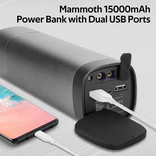 Promate Car Jump Starter Battery Pack, 900A/12V Battery Jump Starter with LED Flashlight, ThunderBeam-15.
