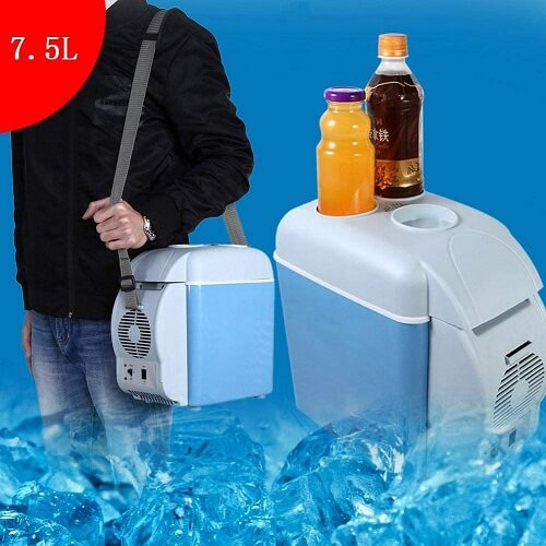 Portable Mini Car Auto Cooling and Heating Refrigerator 7.5l Capacity