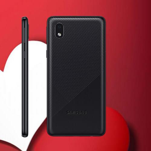 Samsung  Galaxy A3 Core Smartphone 1.5GHz (5mp, 8.0 MP Camara) Dual SIM, 16 GB Mobile Phone  (Black)