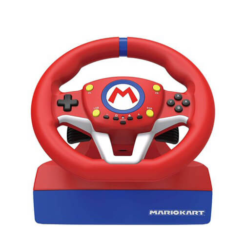Nintendo Switch  Racing Wheel Pro Mini by HORI -Mario Kart,  Officially Licensed by Nintendo