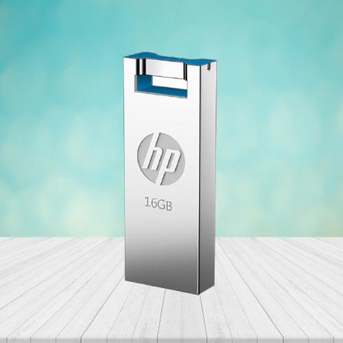 HP USB Flash Drive 2.0  16GB (v295w) Original  Flash Memory Stick Metal Waterproof Shockproof