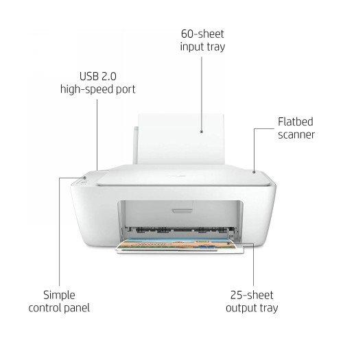 HP DeskJet 2320 All-in-One Printer, Print/copy/scan