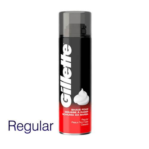 Gillete Classic Shave Foam Regular  200ml Men's shaving Gel