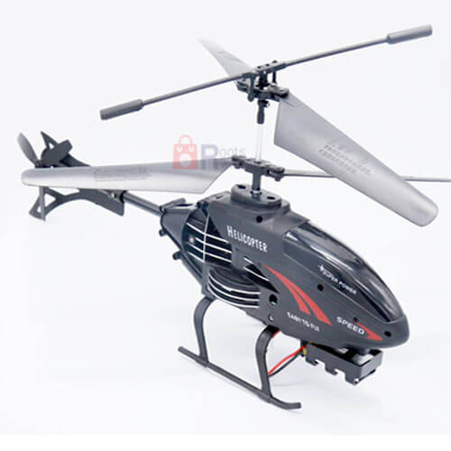 F-330 RC Helicopter  Air Model 32cm 2.5 channel With Gyroscope Black Wireless Charging RC Aircraft